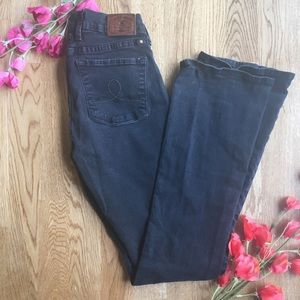 Lucky Brand Black Sofia Boot Jeans